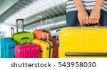 woman. | Shutterstock . vector #543958030
