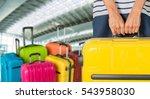 woman. | Shutterstock . vector #543958030