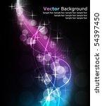 vector abstract design | Shutterstock .eps vector #54397450