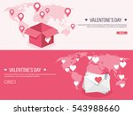 vector illustration. flat... | Shutterstock .eps vector #543988660