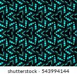 color design geometric pattern. ... | Shutterstock .eps vector #543994144
