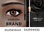 mascara design picture... | Shutterstock .eps vector #543994930
