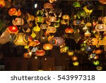 asia turkey  istanbul. lighting ... | Shutterstock . vector #543997318