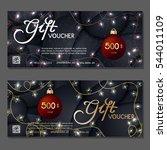gift voucher. vector ...   Shutterstock .eps vector #544011109