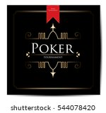poker background | Shutterstock .eps vector #544078420