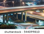 aerial view of suzhou overpass...   Shutterstock . vector #544099810