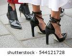 paris september 30  2016. shoes ... | Shutterstock . vector #544121728