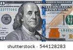 Us 100 Dollar Bill Close Up ...