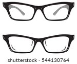pair of eye wear | Shutterstock .eps vector #544130764