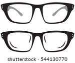 pair of eye wear | Shutterstock .eps vector #544130770
