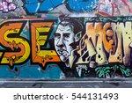 art under ground. beautiful... | Shutterstock . vector #544131493