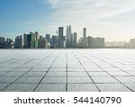 cityscape and skyline with... | Shutterstock . vector #544140790