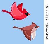 illustration of cartoon flying...   Shutterstock . vector #544147153