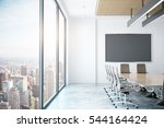 modern conference room with... | Shutterstock . vector #544164424
