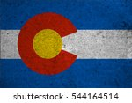 Small photo of graphic american state grunge flag of colorado