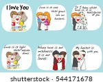lover  groom and bride sweet... | Shutterstock .eps vector #544171678