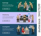 detective spy horizontal...   Shutterstock .eps vector #544179199