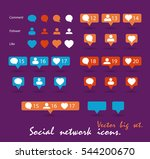 color gradient icon template.... | Shutterstock .eps vector #544200670