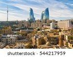 Panoramic View Of Baku   The...