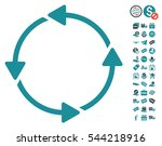 rotation ccw pictograph with...   Shutterstock .eps vector #544218916