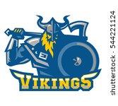 viking | Shutterstock .eps vector #544221124