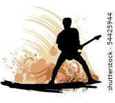 guitarist | Shutterstock .eps vector #54425944