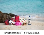 gifts for new year and... | Shutterstock . vector #544286566