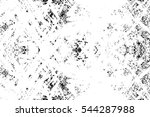 grunge black and white urban... | Shutterstock .eps vector #544287988