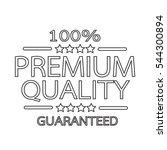 premium quality badge icon | Shutterstock .eps vector #544300894