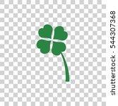 clover icon | Shutterstock .eps vector #544307368