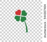 clover icon   Shutterstock .eps vector #544307404