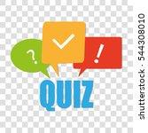 quiz | Shutterstock .eps vector #544308010