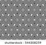 black and white color. abstract ... | Shutterstock . vector #544308259