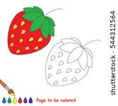 educational worksheet to be... | Shutterstock .eps vector #544312564