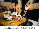 birthday 50 years old | Shutterstock . vector #544319539