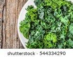 Kale. Green Vegetable Leaves ...
