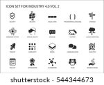 reusable icon set for industry... | Shutterstock .eps vector #544344673
