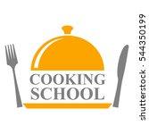 cooking school logo design   Shutterstock .eps vector #544350199