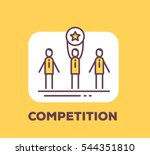 vector business illustration of ... | Shutterstock .eps vector #544351810