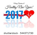 congratulations to the healthy... | Shutterstock . vector #544371730