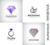 Vector Set Of Jewellery Logos....