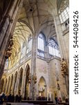 St.vitus Cathedral  The Gothic...