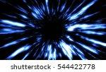 futuristic light tunnel.... | Shutterstock . vector #544422778
