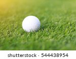golf ball on grass | Shutterstock . vector #544438954
