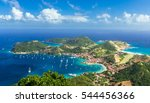 Small photo of Overlook of Island Town in Guadeloupe