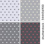 set texture with a pattern in... | Shutterstock .eps vector #544456900