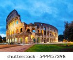The Colosseum In Rome  Italy I...