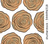 small beige and neutral rose... | Shutterstock .eps vector #544496518