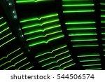 green las vegas casino neon...   Shutterstock . vector #544506574