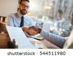 financial deal   Shutterstock . vector #544511980